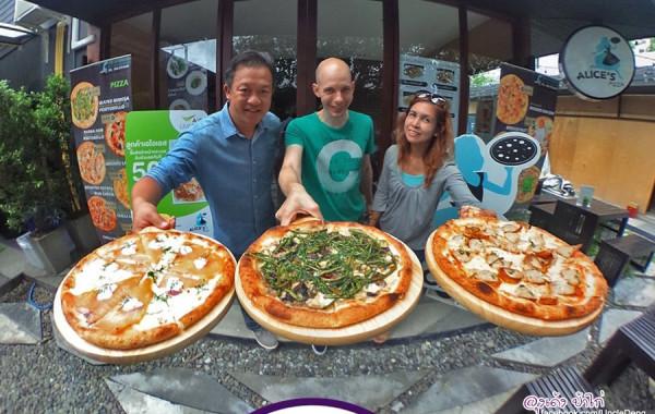 Alice's Pizza พิซซ่าแนวคิดใหม่!!!