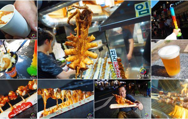 12 อันดับเมนูริมทาง แห่ง Jeonju Hanok Village