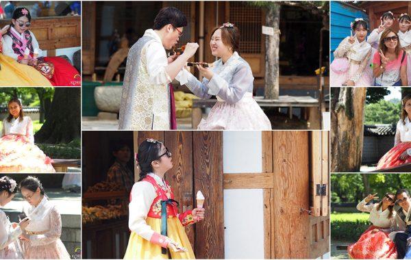 เที่ยวจอนจู สวมชุดฮันบก เดิมชมเมืองโบราณ