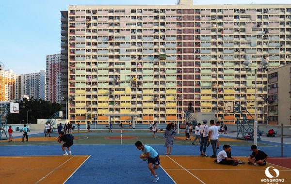 ตึกสายรุ้ง choi hung estate ติดสถานี choi hung estate ทางออก C