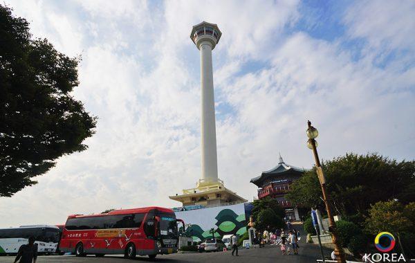 Busan Tower จุดชมวิวเมืองปูซาน