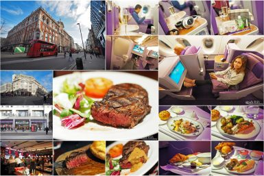 London Day 06 : Soho, China Town, Angus Steakhouse, Royal Silk Class Thai Airways