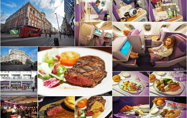 London Day 06 : Soho, China Town, Angus Steakhouse, Royal Silk Class Thai Airways