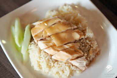 ข้าวมันไก่ สิงคโปร์ Tian Tian อร่อยระดับ Bib Gourmand 2016 / 2017