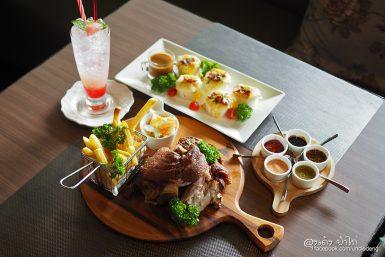 Silver House Bistro ลำลูกกา ร้านสวย อาหารอร่อย