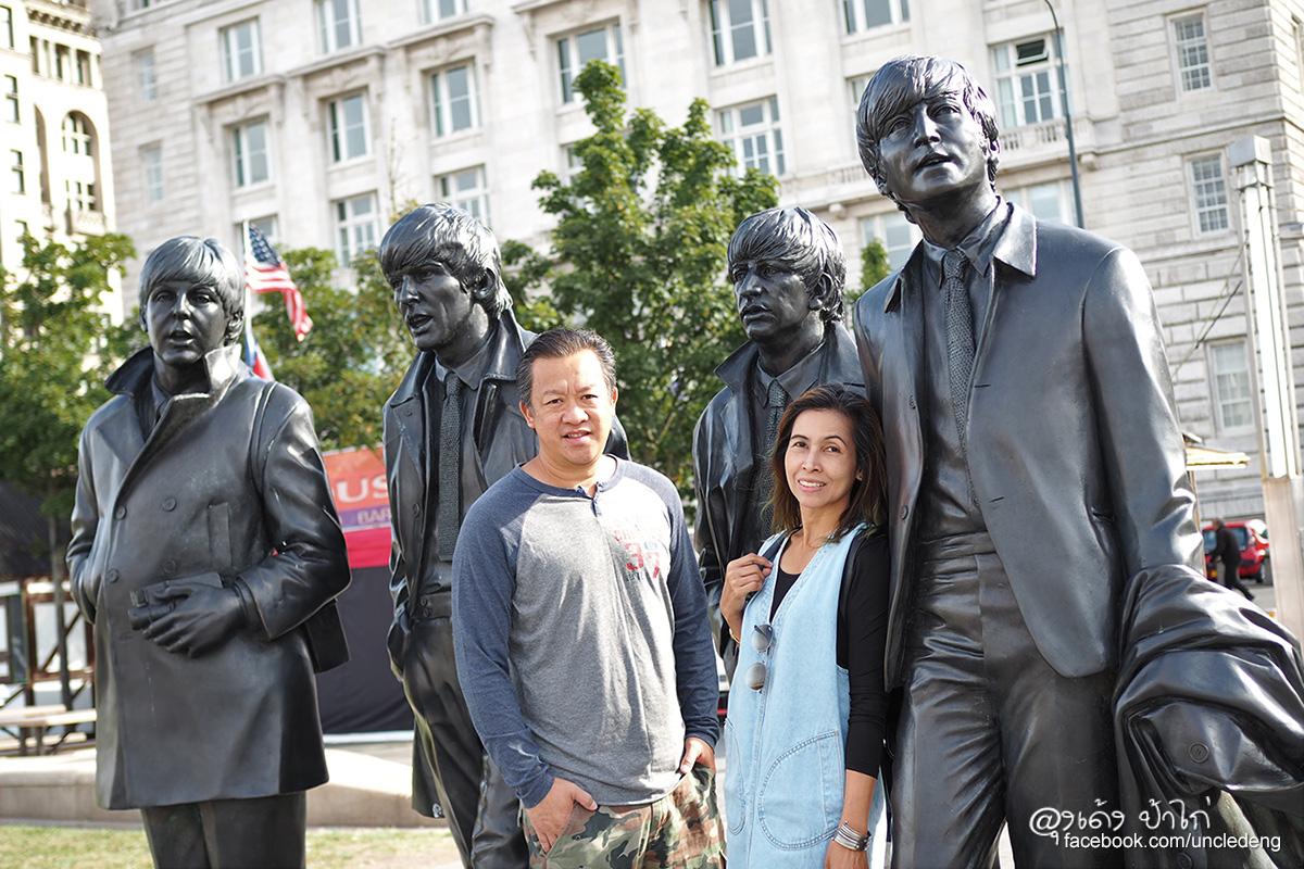 ลุงเด้ง ป้าไก่ ตามรอย The Beatles Liverpool